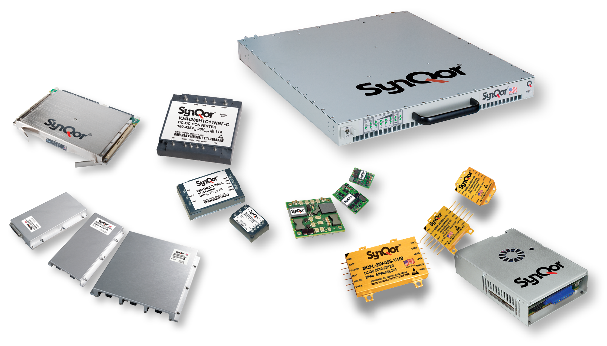 SynQor Power Converters, Systems and Filters