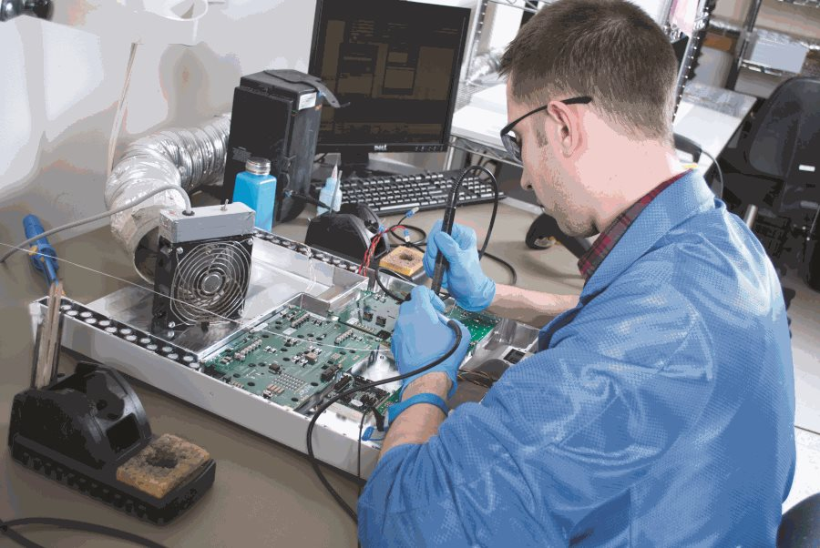 Electronic device manufacturing process UPS, MPC, VPX, MINV, MPS, MAC Systems