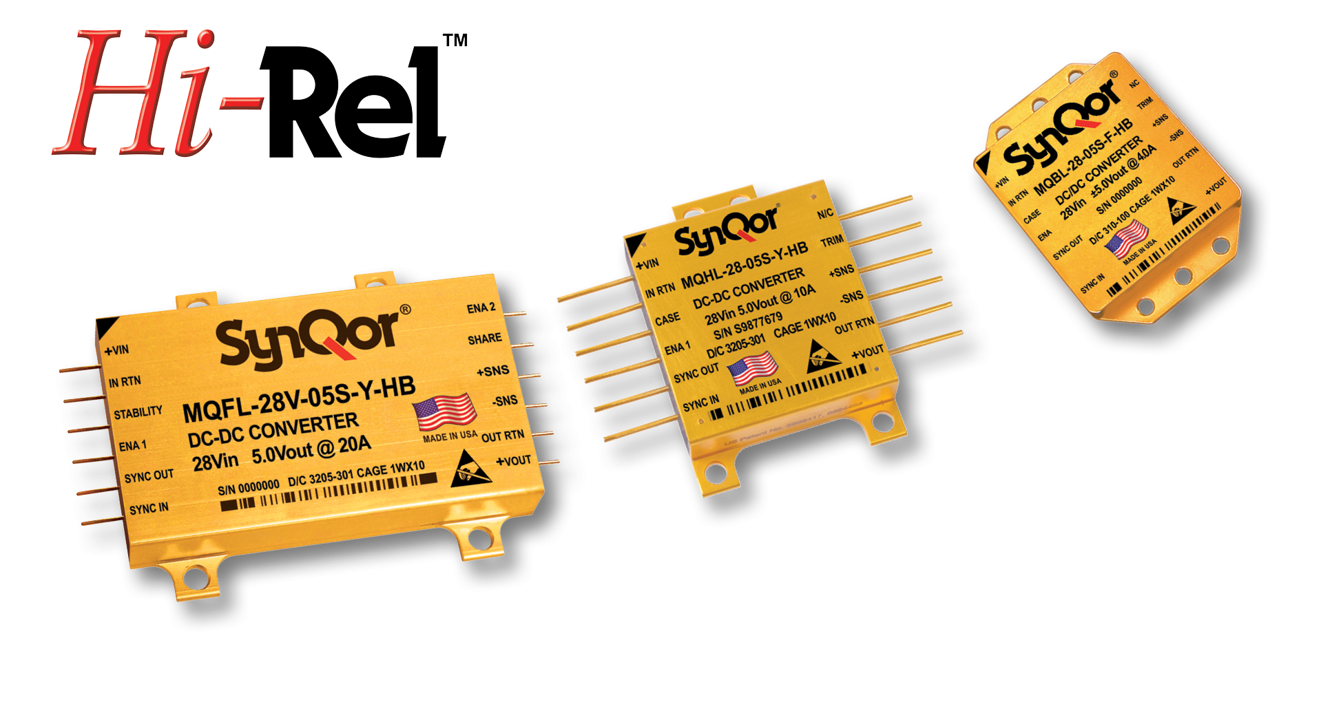 Hi Rel Converters And Filters Synqor Dctodcconverterpng Milqor High Reliability Dc