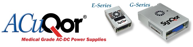 ACuQor-Medical AC-DC Power Supplies